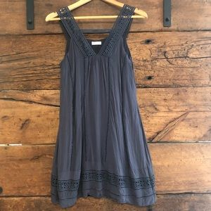Gentle Fawn | Embroidered Strap Dress